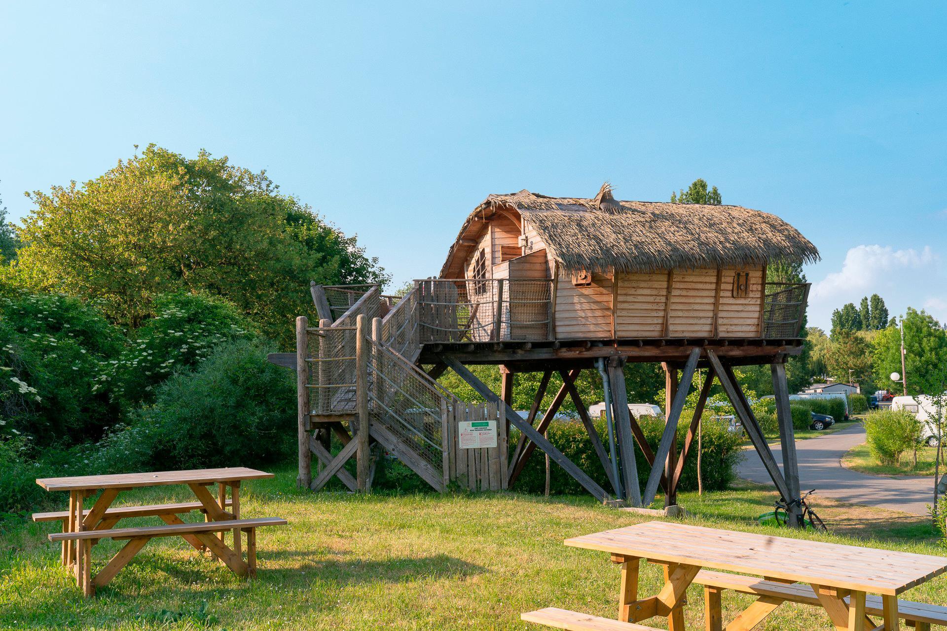 Location - Cabane Love 2 Chambres - Camping Sandaya Paris Maisons-Laffitte