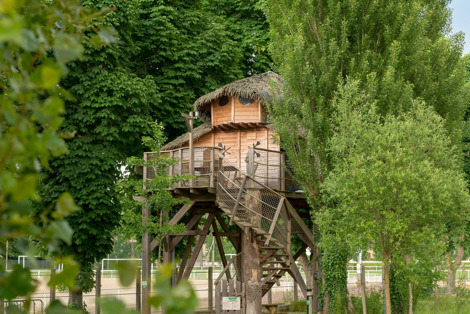 Location - Cabane Magic 2 Chambres - Camping Sandaya Paris Maisons-Laffitte