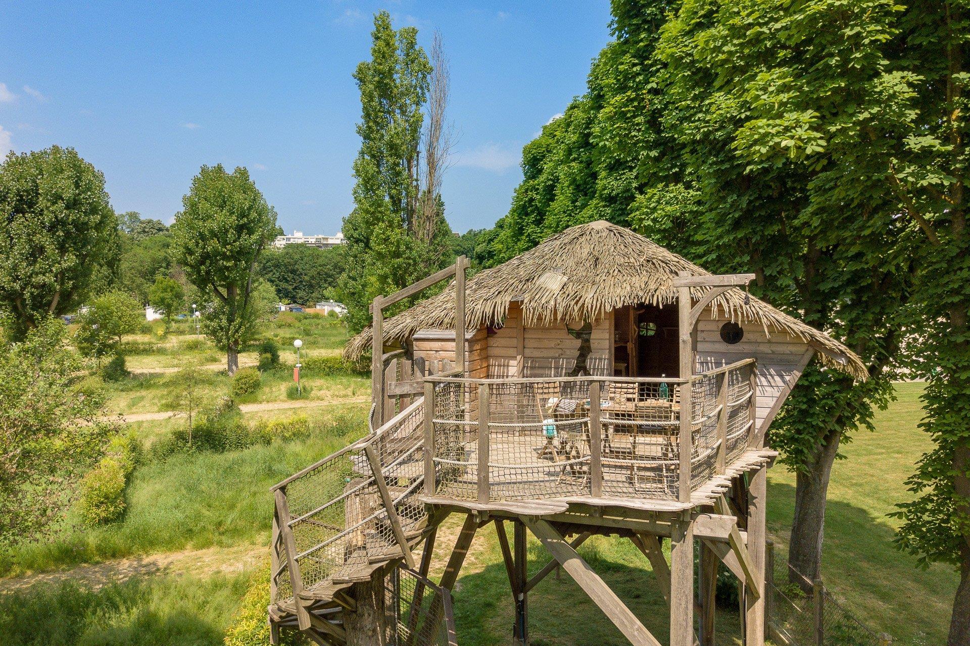 Location - Cabane Nautilus 2 Chambres - Camping Sandaya Paris Maisons-Laffitte