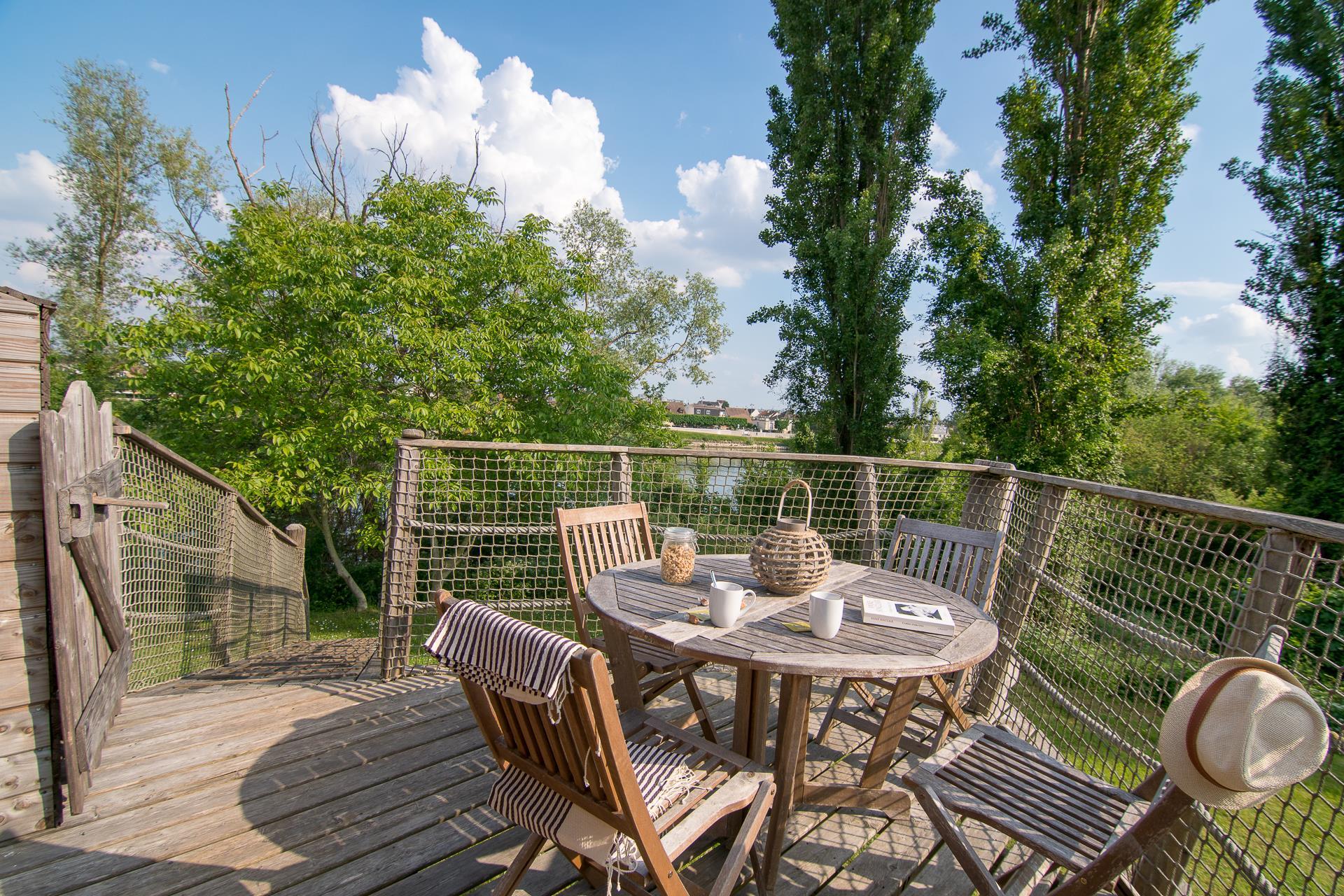 Location - Cabane Zen 2 Chambres - Camping Sandaya Paris Maisons-Laffitte