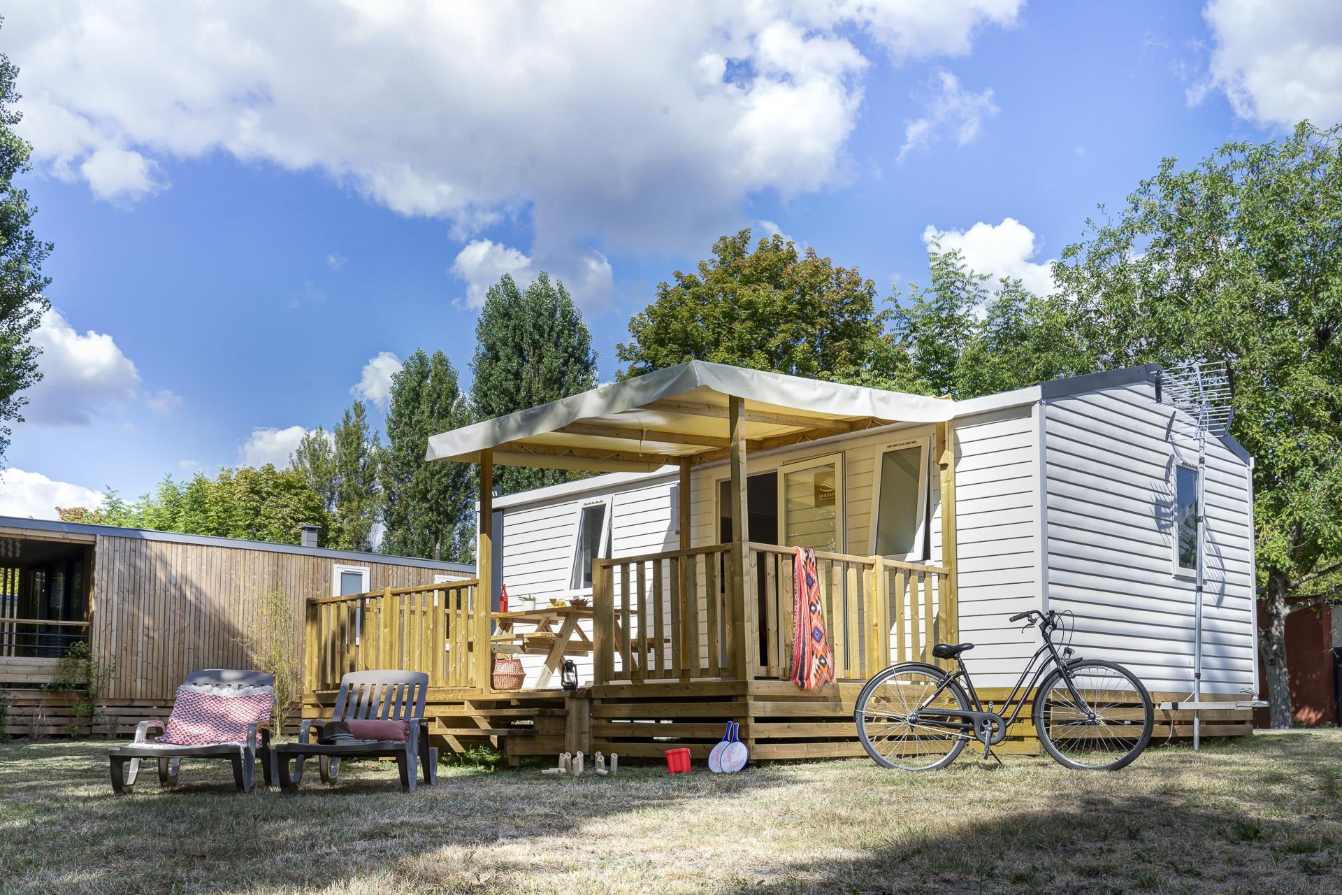Location - Cottage 2 Chambres *** - Camping Sandaya Paris Maisons-Laffitte
