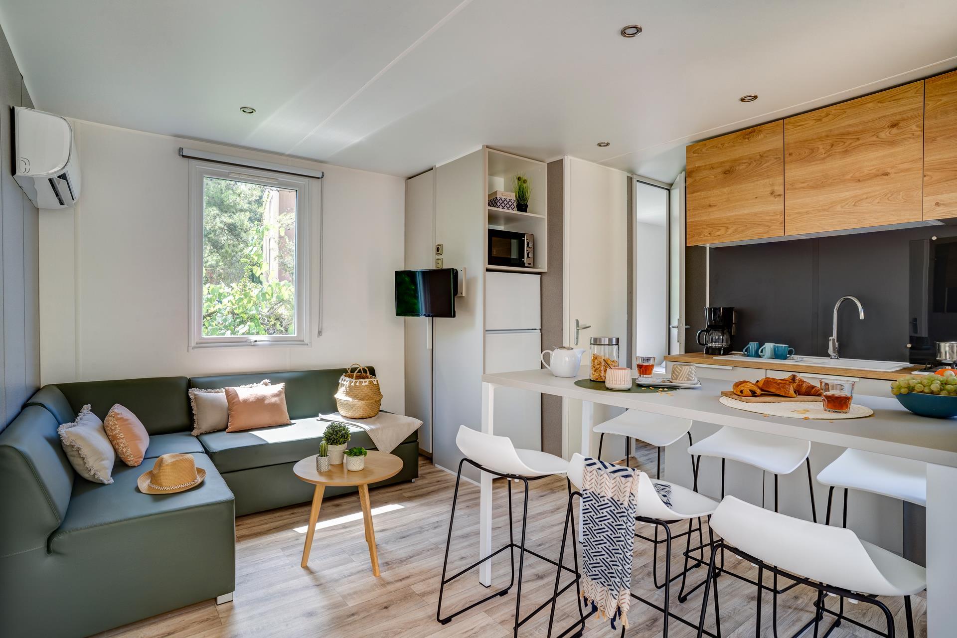 Location - Cottage 3 Chambres **** - Camping Sandaya Paris Maisons-Laffitte