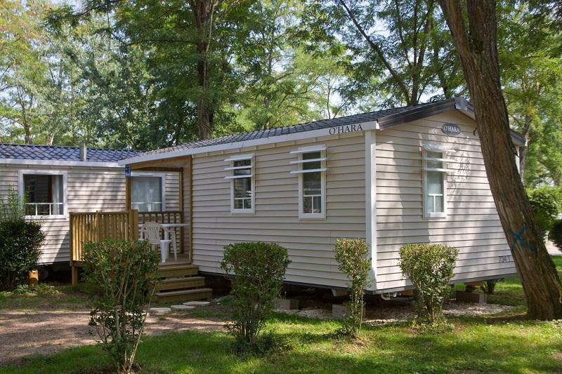 Location - Mobil Home Confort+ 27.50 M² (2 Chambres) - Terrasse Couverte - Camping Les Portes de Sancerre