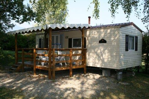 Accommodation - Mobile Home 1 / 2 - Camping La Ferme du Lac