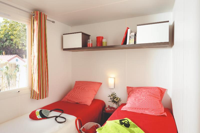 Huuraccommodatie - Cottage 2 Slaapkamer - Camping l'Idéal