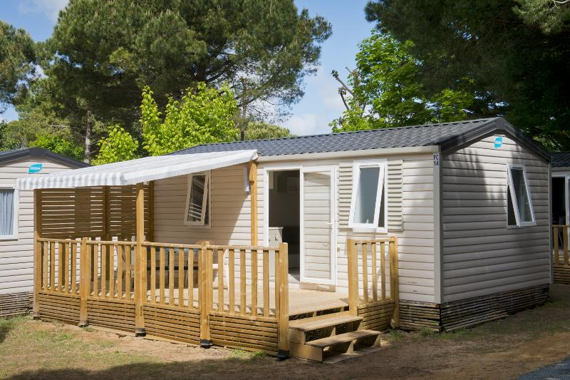 Accommodation - Family 27M² 2 Bedrooms - Camping l'Idéal