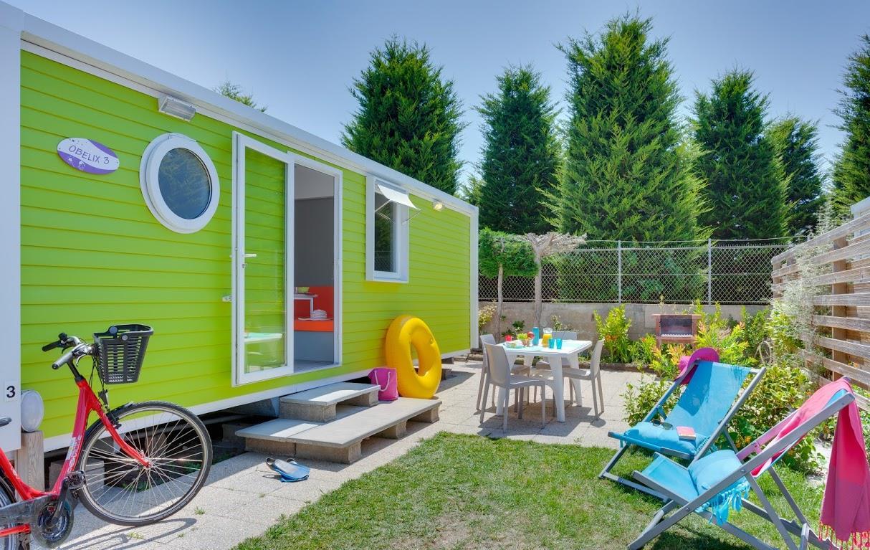 Location - Mobil Home Cosy + Tv - Camping Do Mi Si La Mi