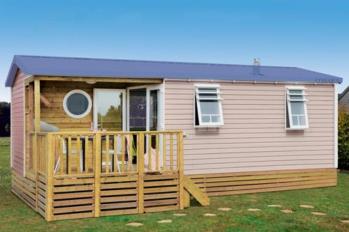 Location - Mobil Home Confort Terrasse + Tv - Camping Do Mi Si La Mi