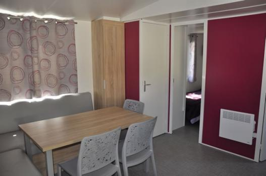 Mobilhome Grand Espace - 32m² - 3 chambres - climatisation