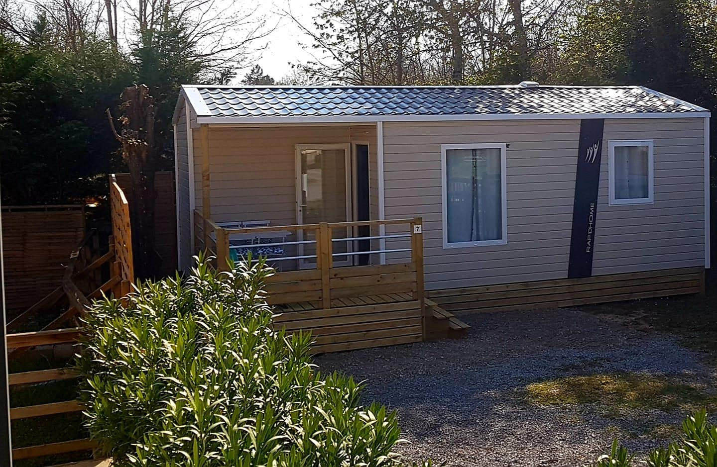 Mobil-home Famille - 26m² - 2 chambres - climatisation