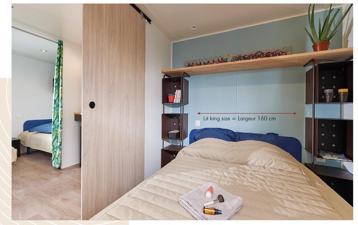 Mobilodge - 16m² - 2 chambres - sans sanitaires