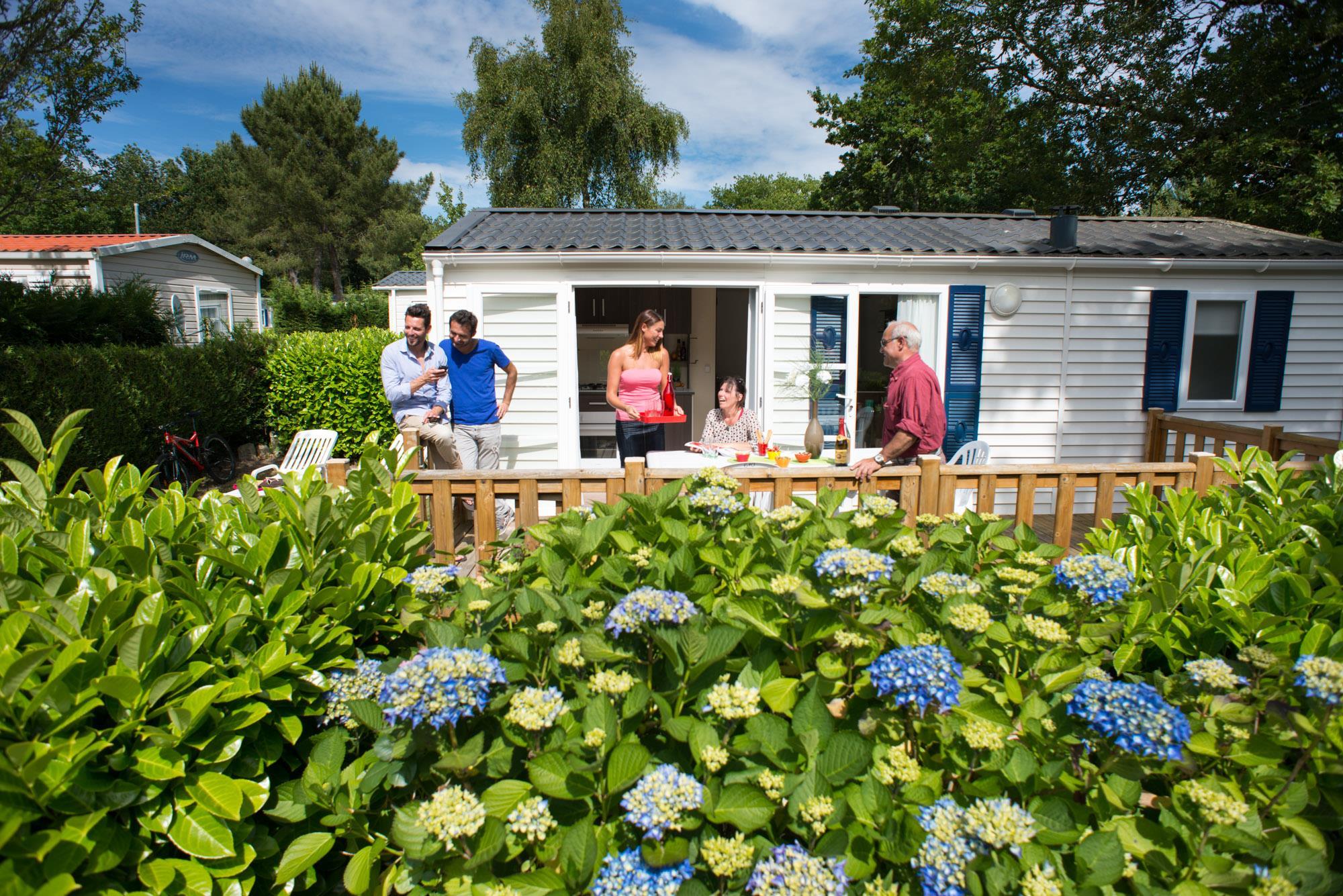 Camping Domaine de Kerlann, Pont-Aven, Finistère