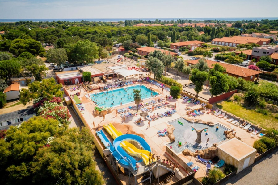 Chadotel Camping Le Trivoly - Torreilles-Plage
