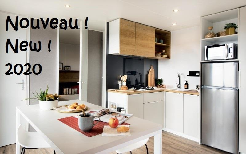 Mobil-Home 2 Chambres Grand Luxe 2020