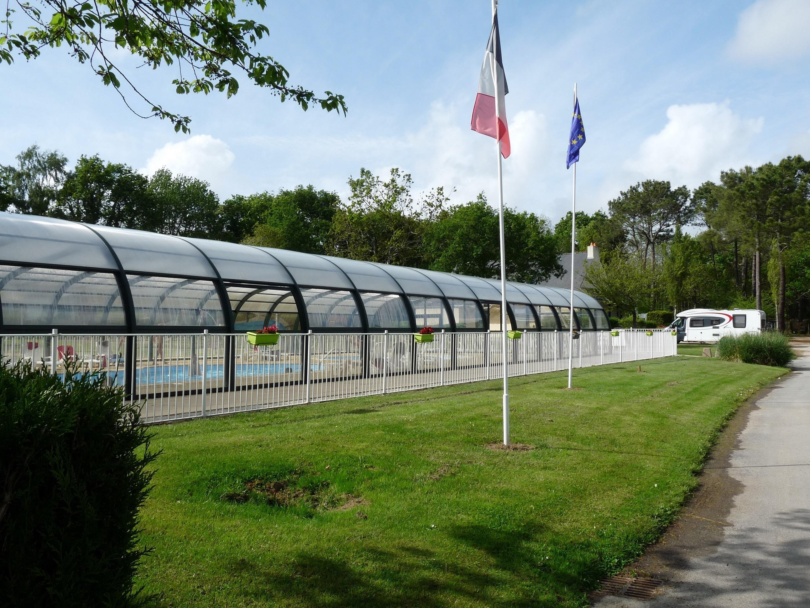Camping le Saint Laurent, Ploemel, Morbihan