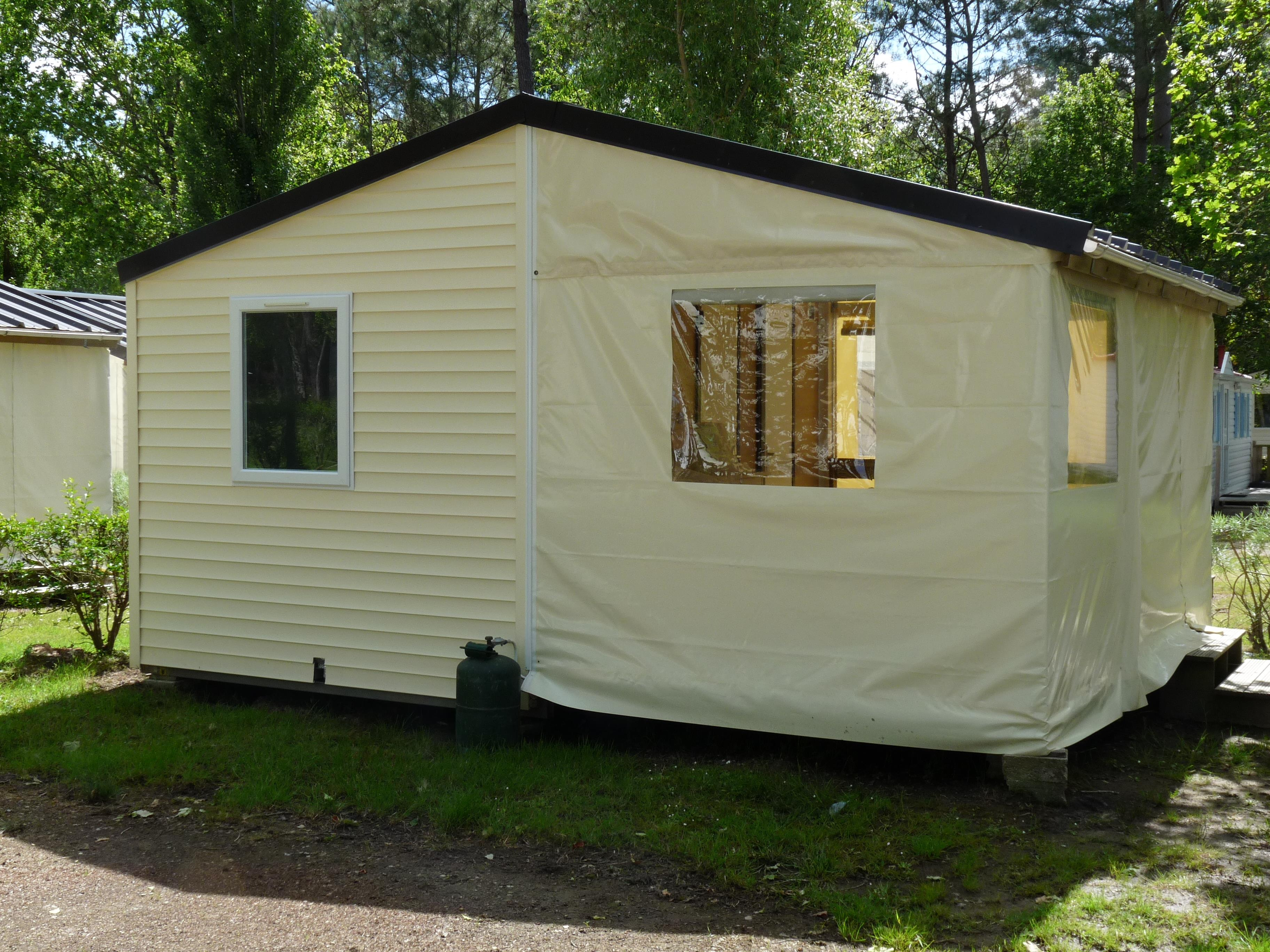 Location - Tit'home 2 Chambres 21M² - Wc, Mais Pas De Douche - Camping Le Saint Laurent