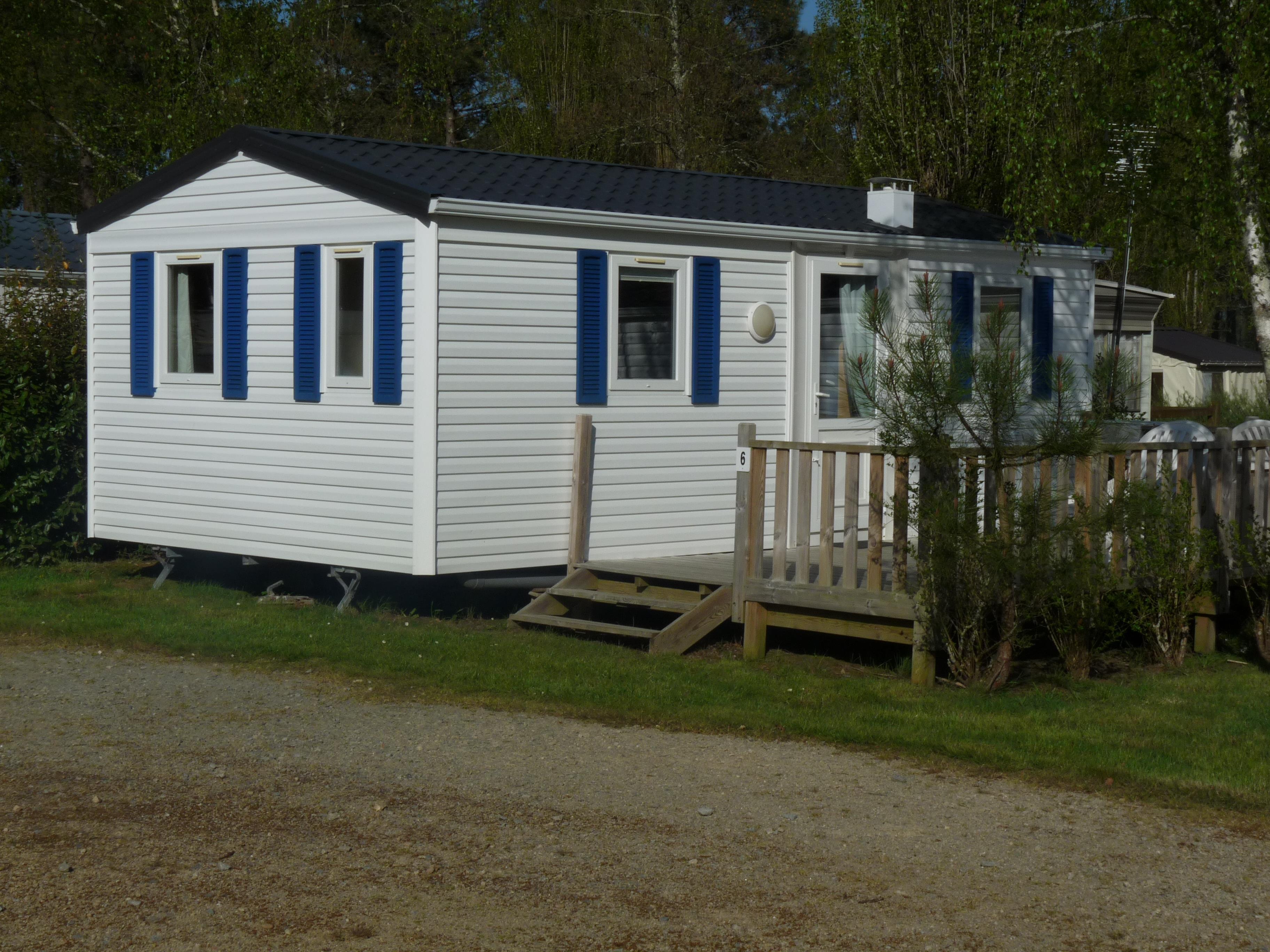Location - Mobil-Home 2 Chambres 27M² - Camping Le Saint Laurent