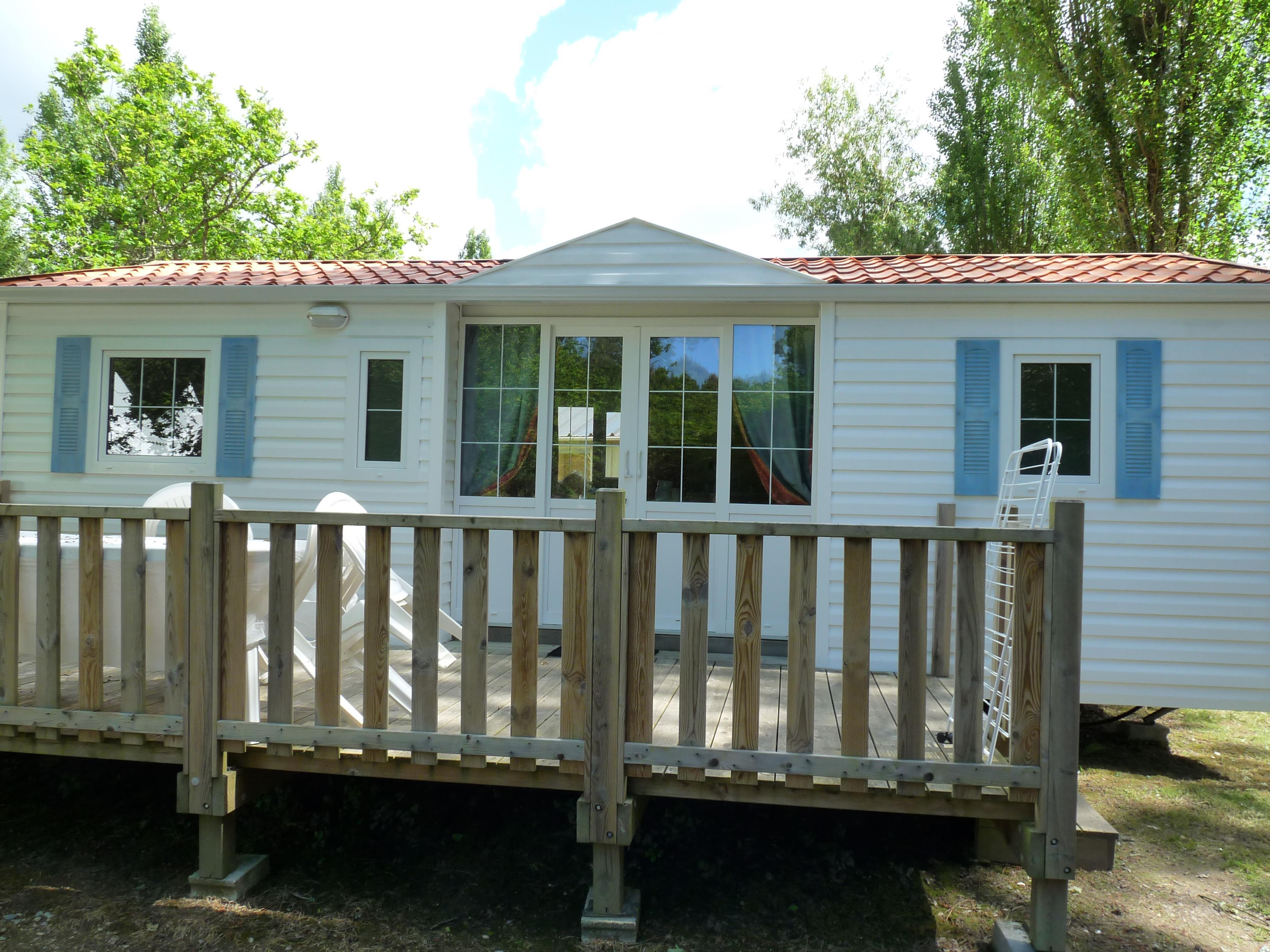Location - Mobil-Home 3 Chambres 32M² - Camping Le Saint Laurent