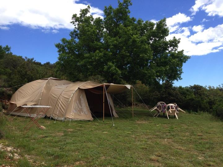 Accommodation - Tent Karsten - Camping La Goule