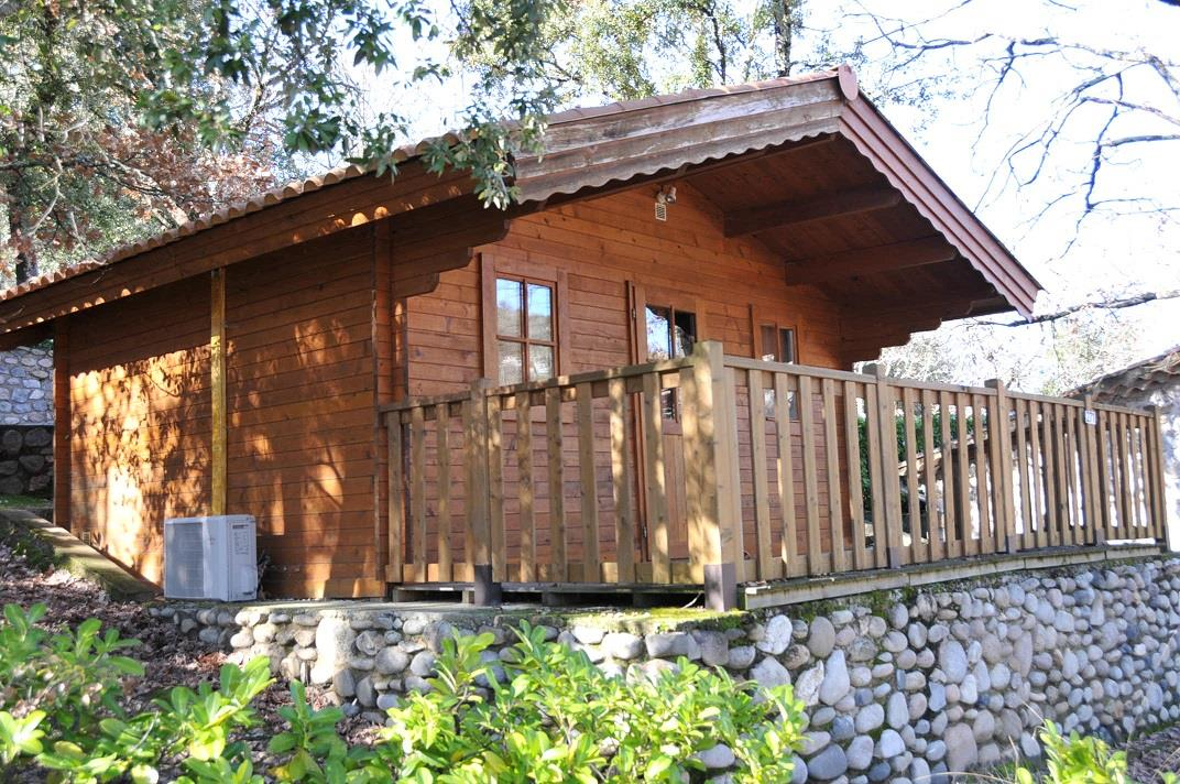Accommodation - Wooden Chalet With Terrace + Air Conditioning +Tv 20M2 - Domaine des BLACHAS