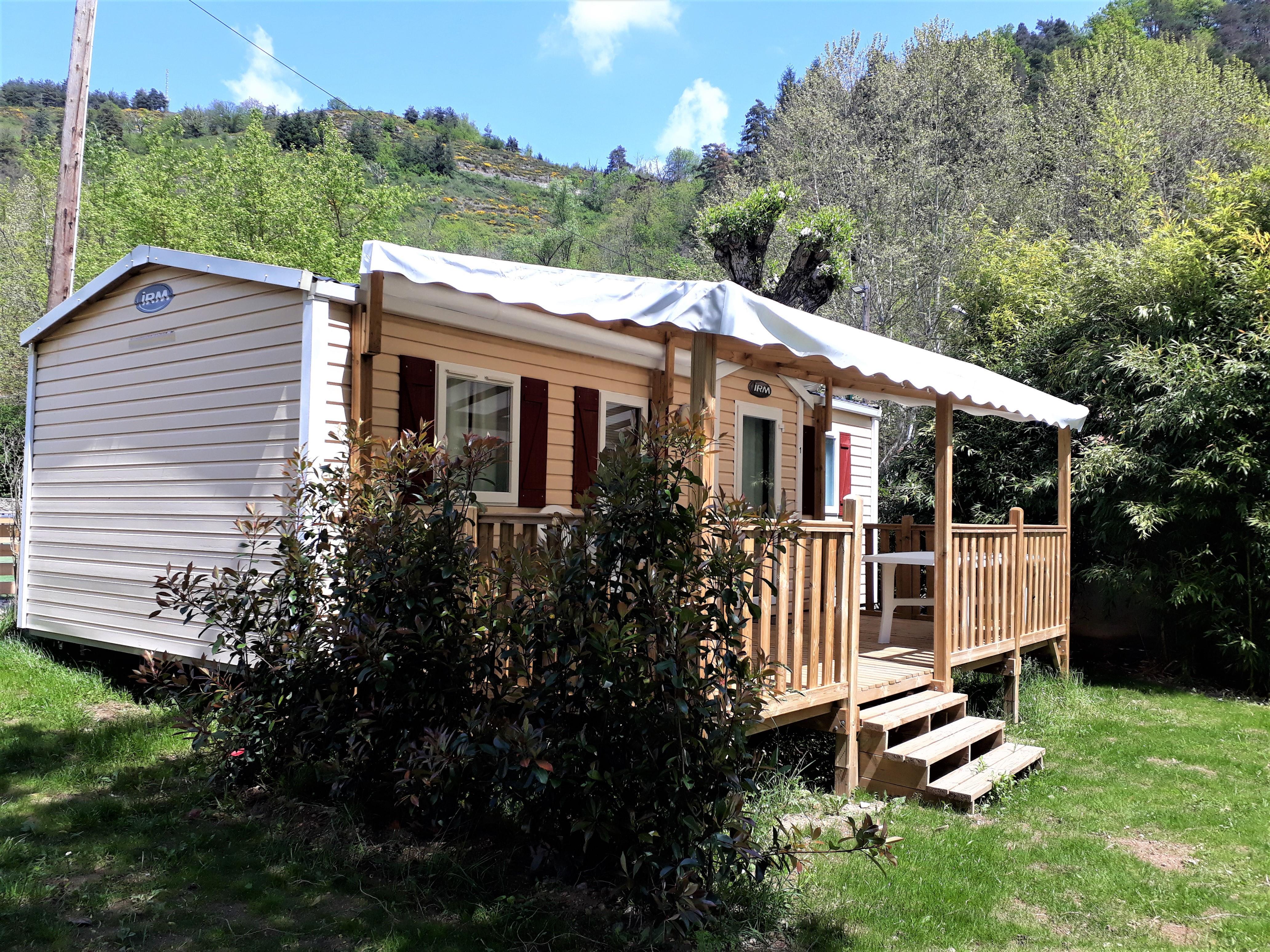 Location - Mobile Home Super Titania 3 Chambres - Camping de Retourtour