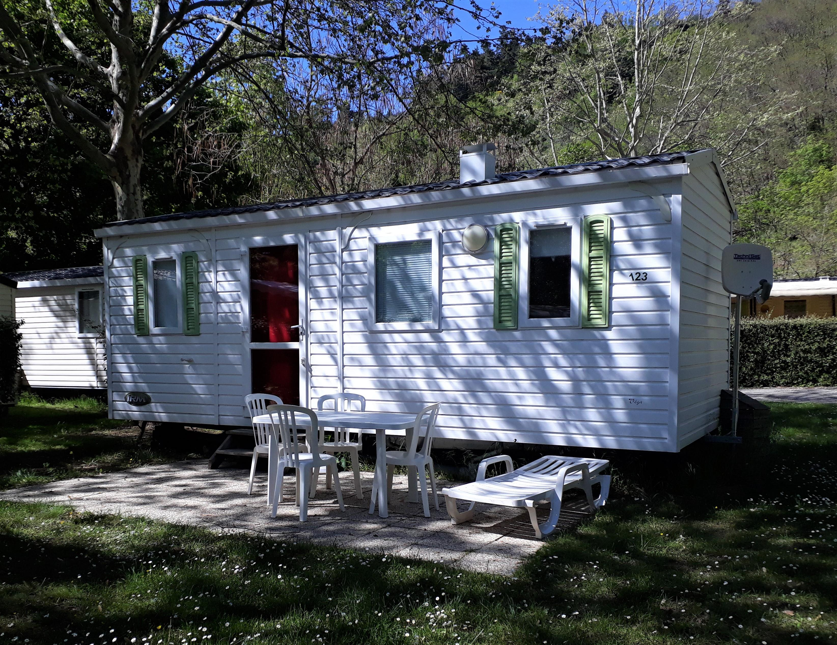 Location - Mobil-Home Compact - Camping de Retourtour