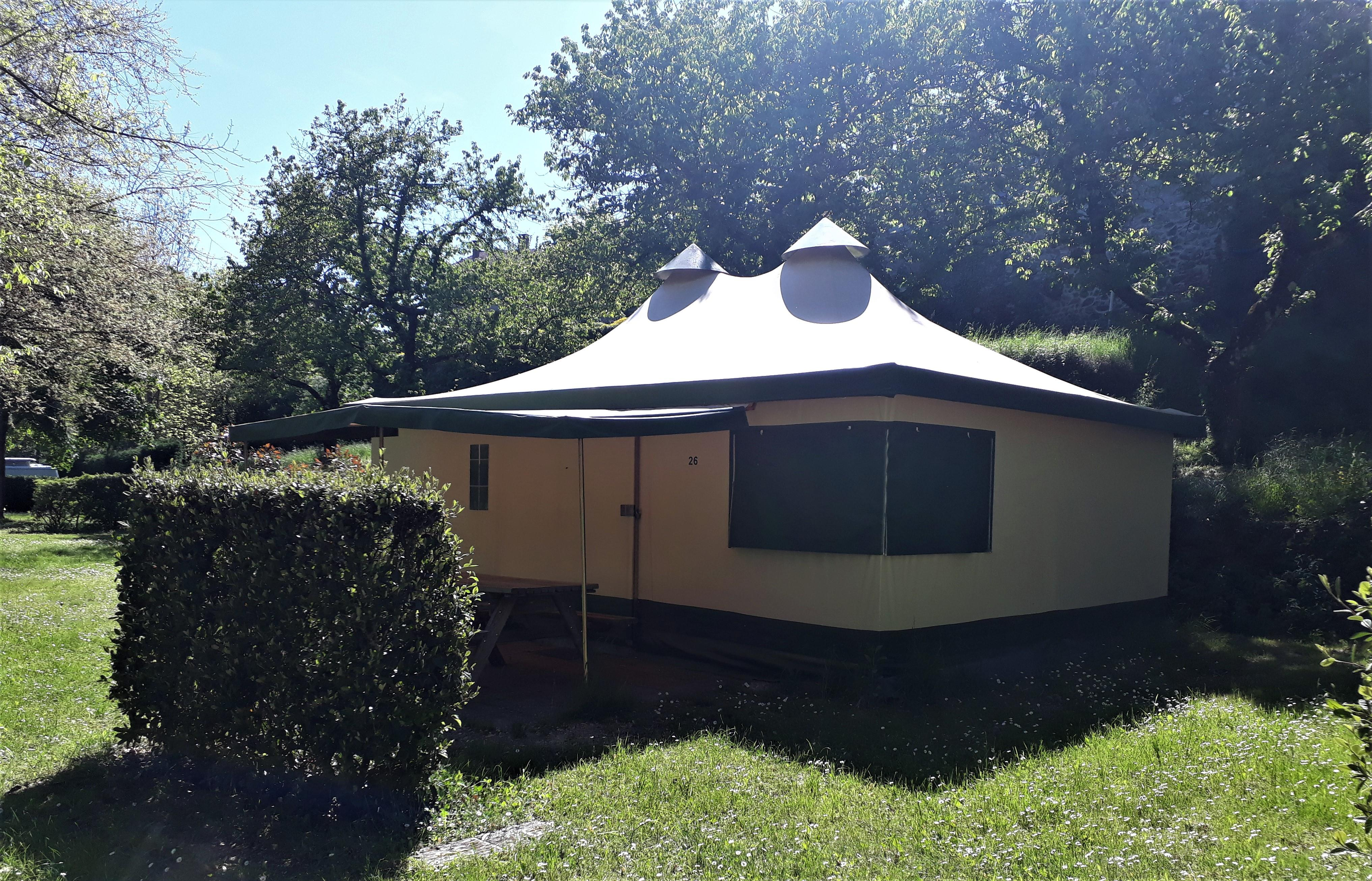 Location - Bungalow Toilé Cyrus 6 Personnes - Camping de Retourtour