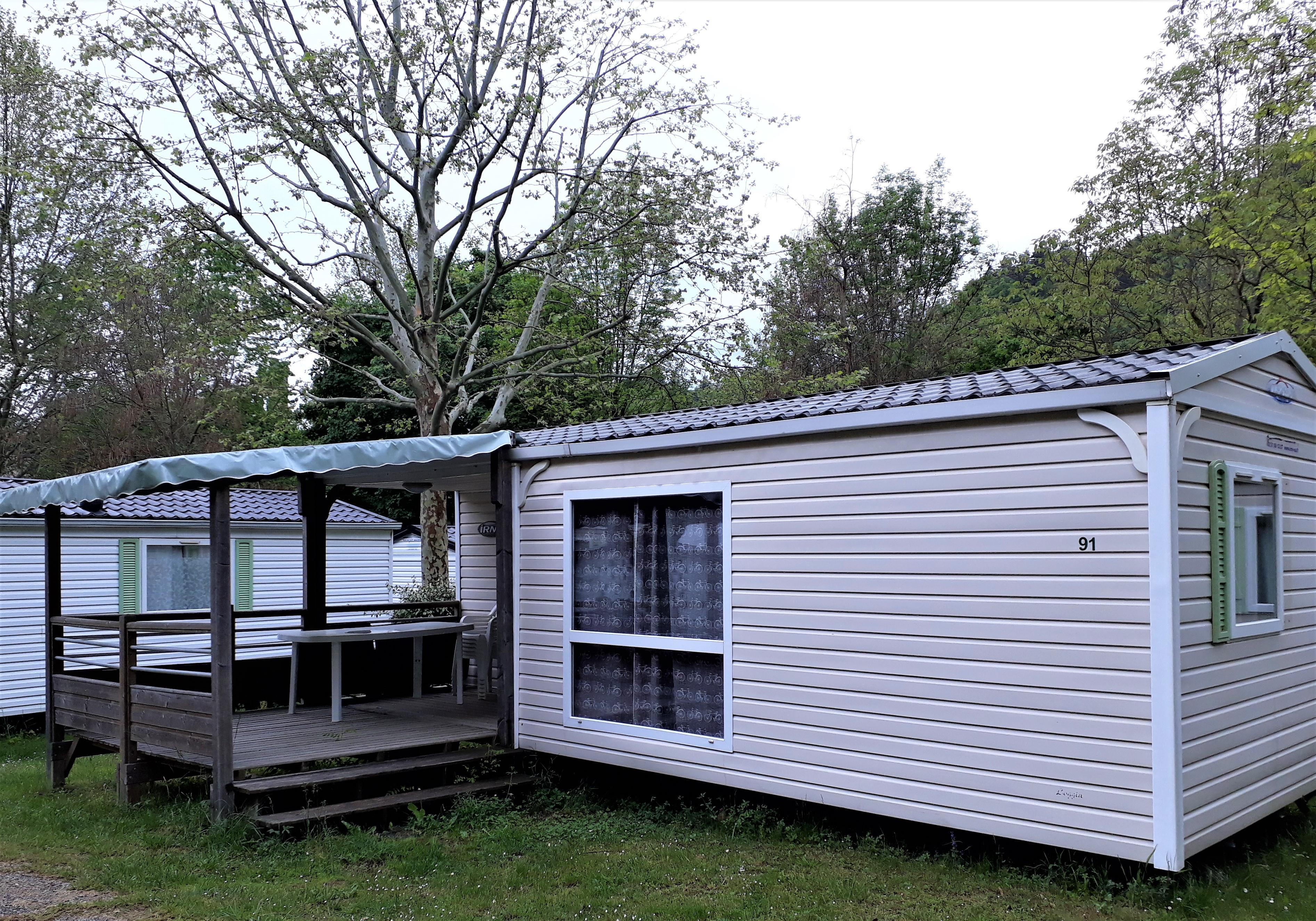 Location - Mobile-Home Loggia - Camping de Retourtour