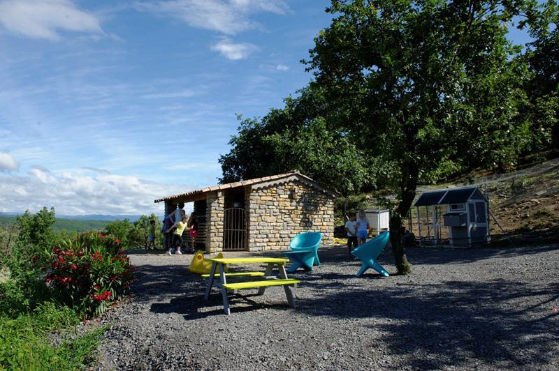 Camping le Chamadou, Balazuc, Ardèche