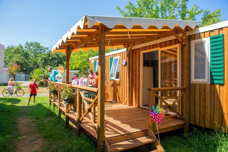 Location - Mobil Home Resort Top Presta 29M² - Capfun - Camping Le Merle Roux