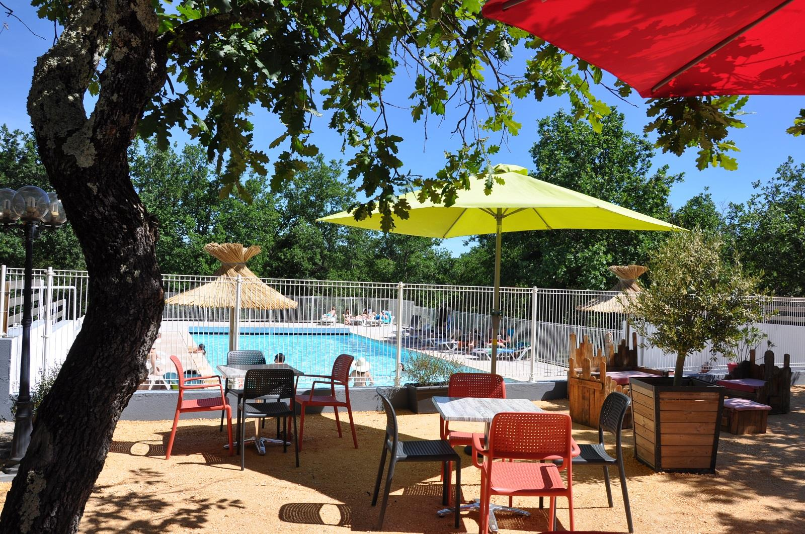 Camping l'Ombrage, Lagorce, Ardèche