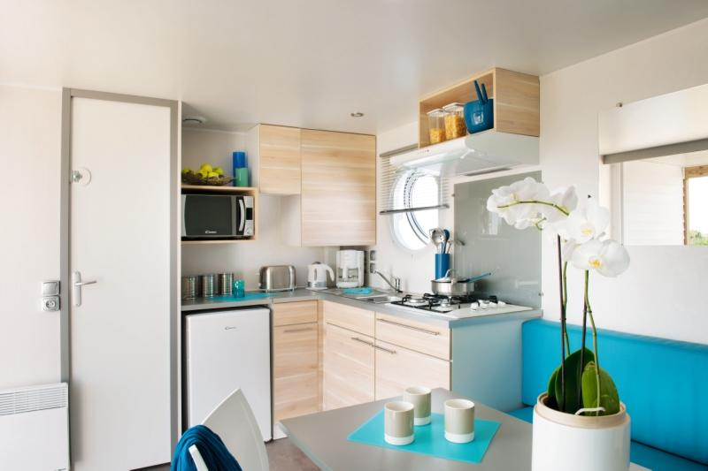 Location - Mobil-Home 25M² 2Ch/2Sdb (2 Chambres) - Camping du Lac de Saint-Cyr