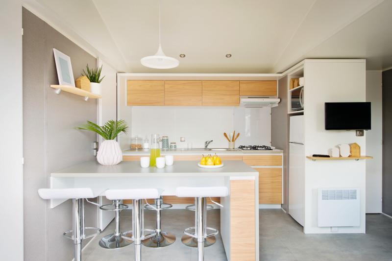 Location - Mobil-Home Tribu 60M² (6 Chambres) + Terrasse Commune - Camping du Lac de Saint-Cyr