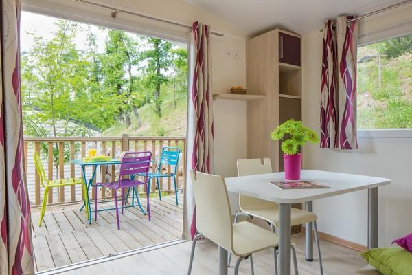 Location - Sunêlia Confort Duo 1 Chambre 20M² - Camping Domaine Les Ranchisses