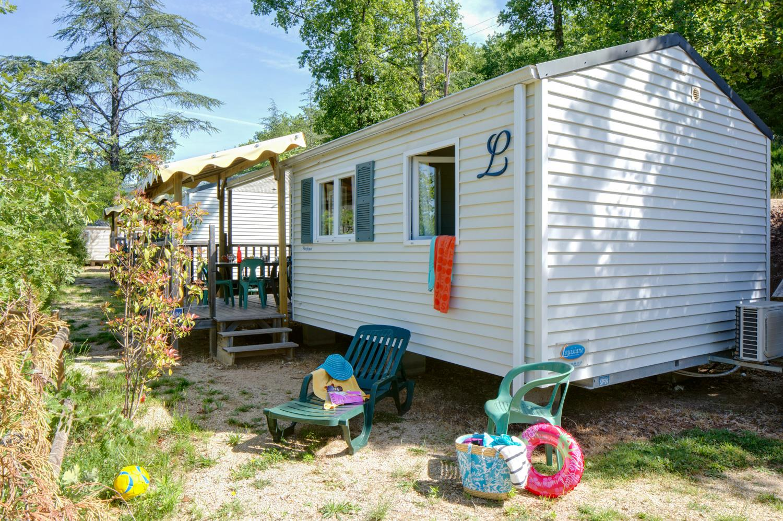 Location - Sunêlia Confort Loggia 2 Chambres 25M² - Camping Domaine Les Ranchisses