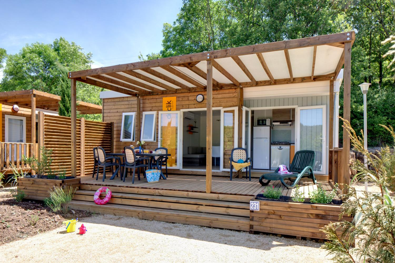 Location - Sunêlia Prestige Loft  28M² 2 Chambres - Camping Domaine Les Ranchisses