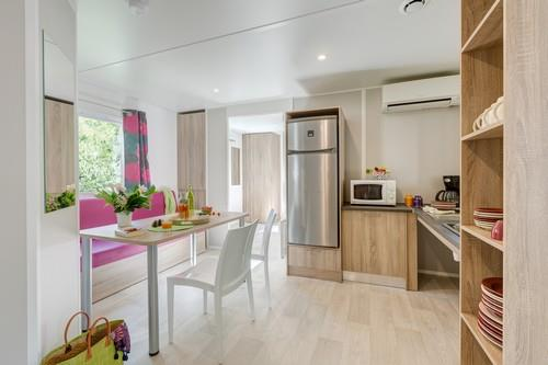 Location - Sunêlia Confort  Pmr 33M² 2 Chambres - Camping Domaine Les Ranchisses