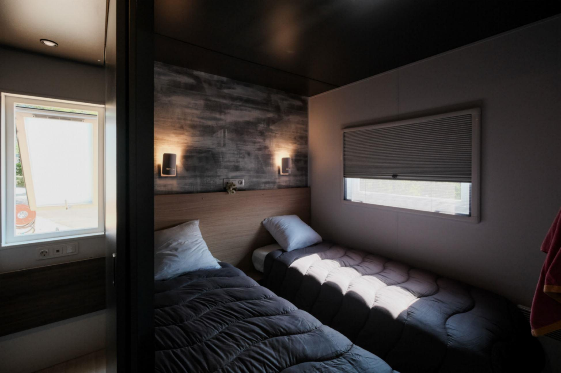 Location - Sunêlia Luxe Taos 35 M² 2 Chambres + 2 Sdb. - Camping Domaine Les Ranchisses