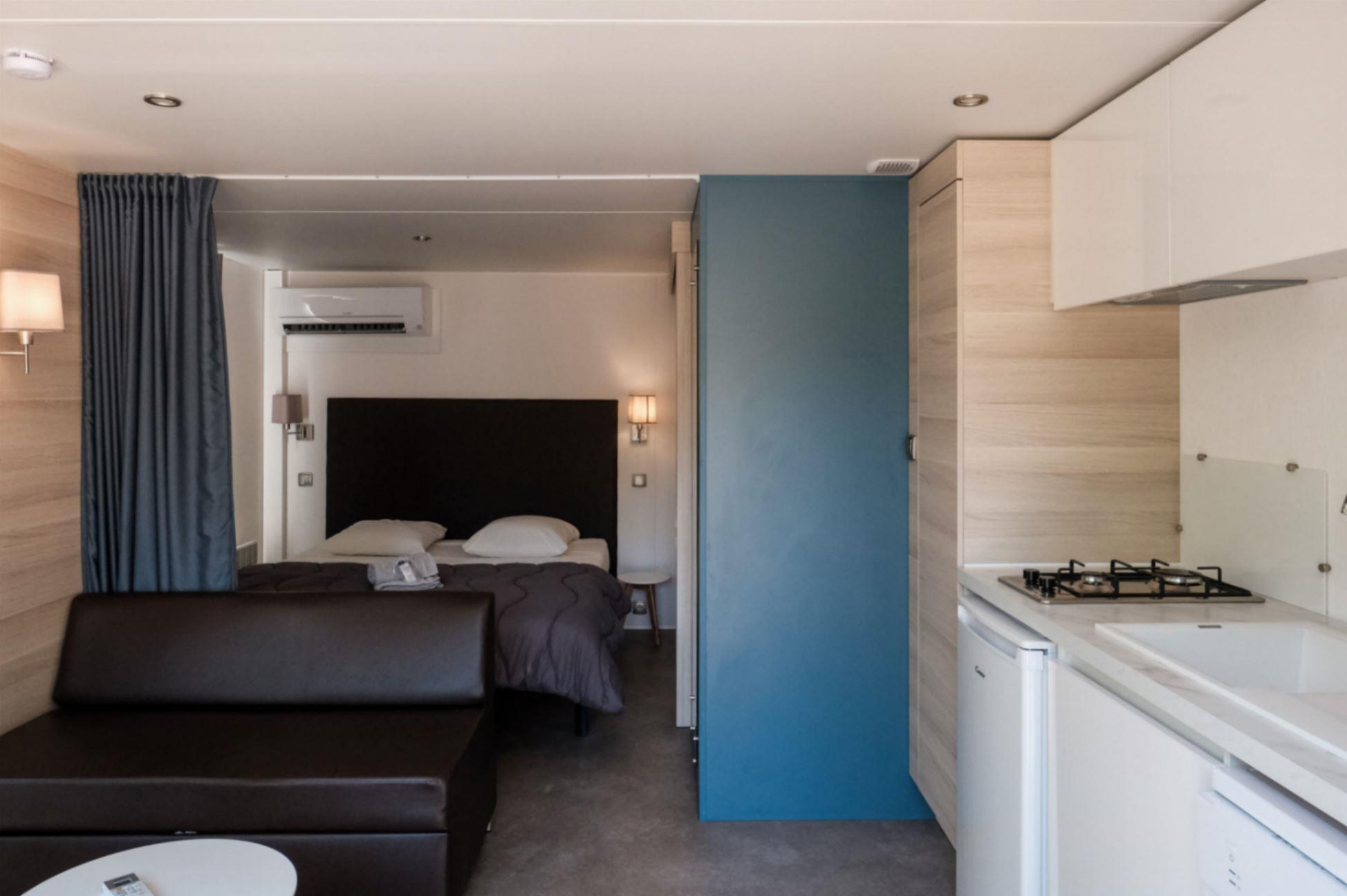 Location - Sunêlia Prestige Duo 1 Chambre - Camping Domaine Les Ranchisses