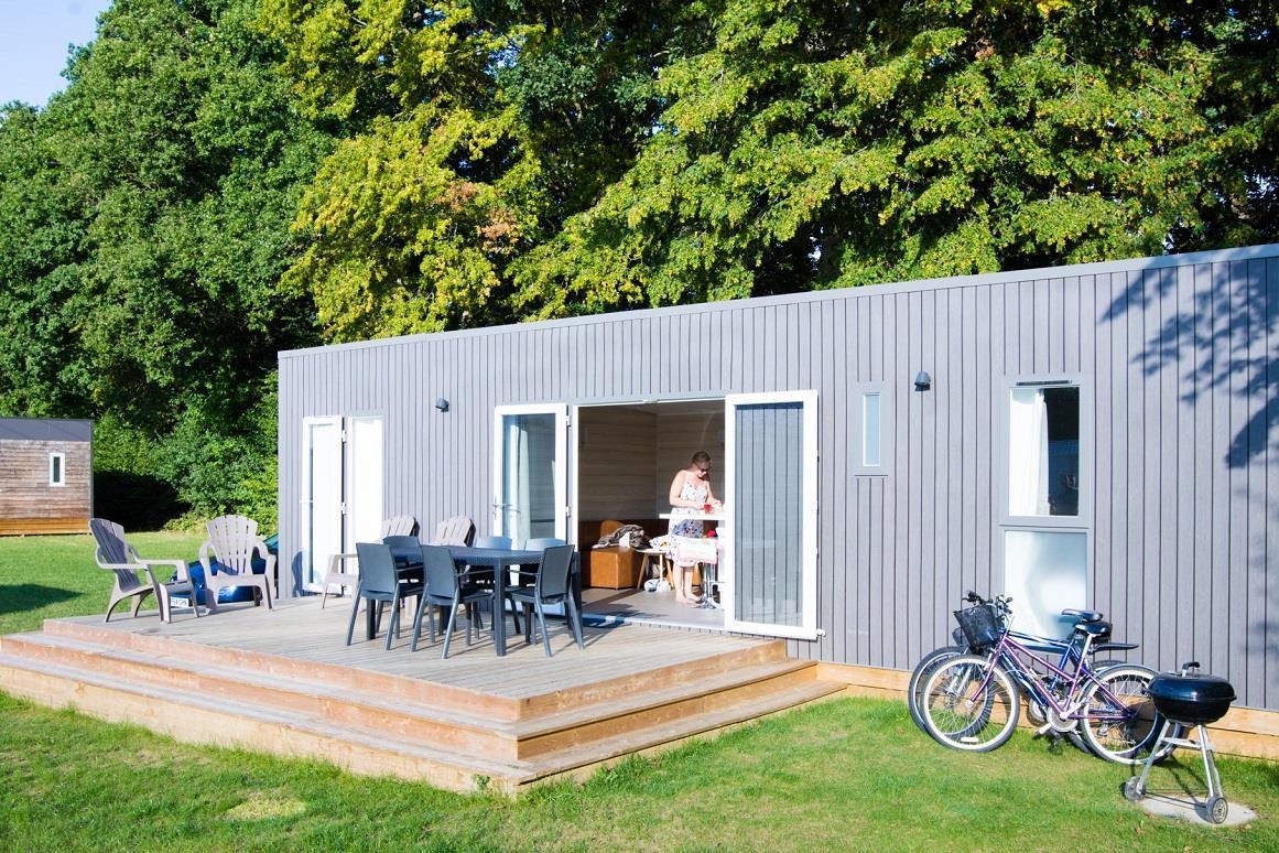 Location - Cottage Premium 3 Chambres - Camping Domaine du Logis