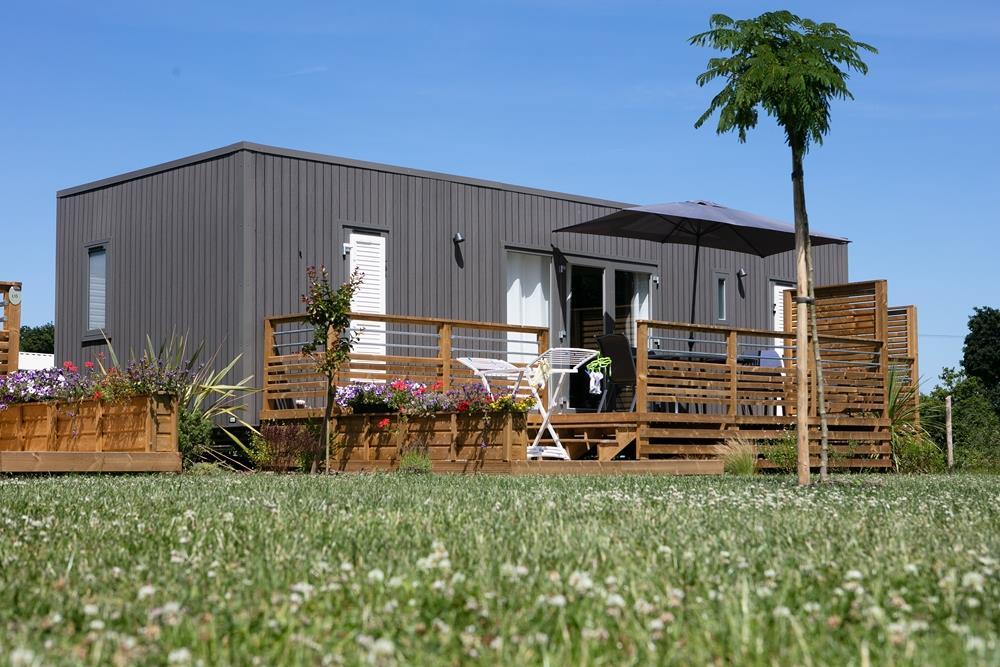 Location - Cottage Premium 2 Chambres - Camping Domaine du Logis