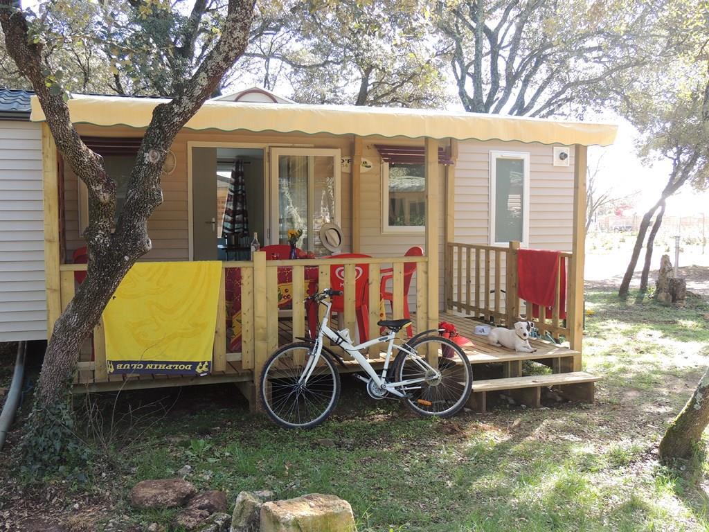 Location - Mobil-Home Confort + Family  27M² (2 Chambres) - Terrasse Couverte 15M² Tv Incluse -  Clim - Flower Camping Domaine de Gajan