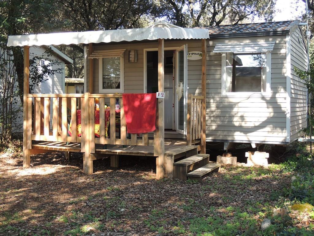 Location - Mobil-Home Confort Twin 19M² (1 Chambre) Avec Terrasse 12M²- Tv Incluse - Flower Camping Domaine de Gajan
