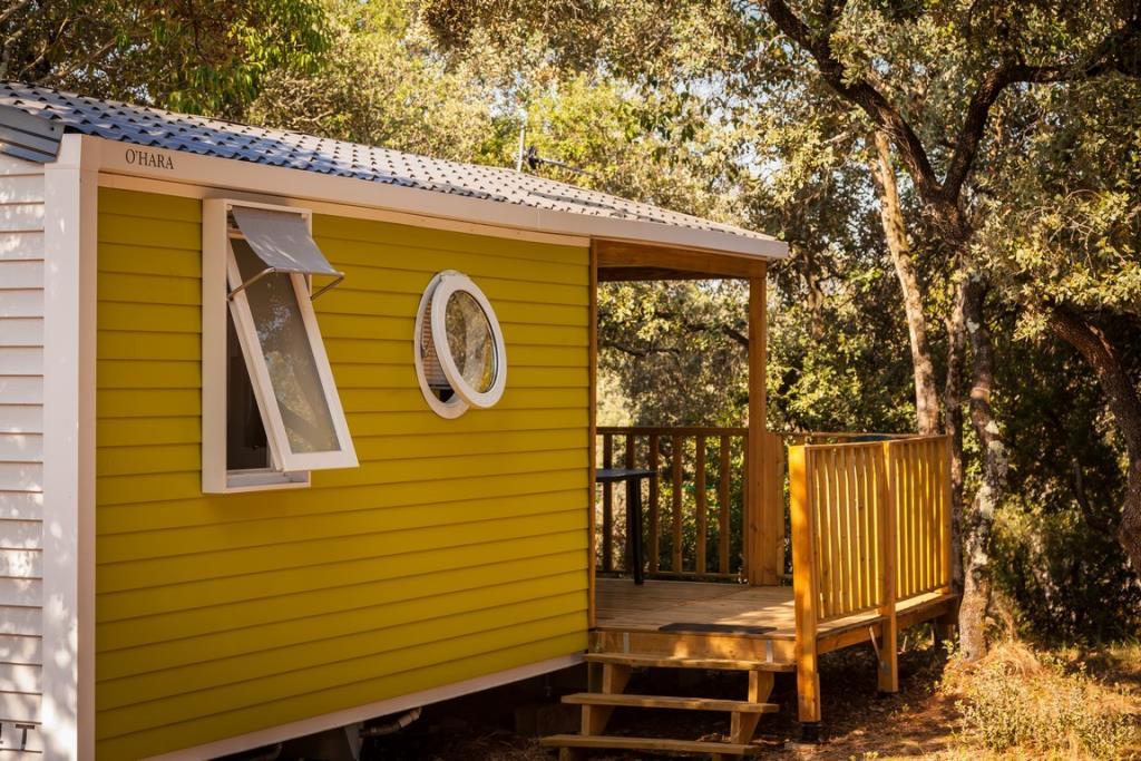 Location - Mobil-Home Confort + Sunny 20M² (2 Chambres) + Terrasse Couverte Comprise - Tv Incluse Arv/Départ Dimanche - Flower Camping Domaine de Gajan