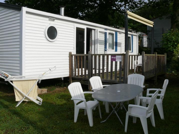 MH(- 7 ans)3 chambres  terrasse bois sur élevée avec store banne 32 m²-1