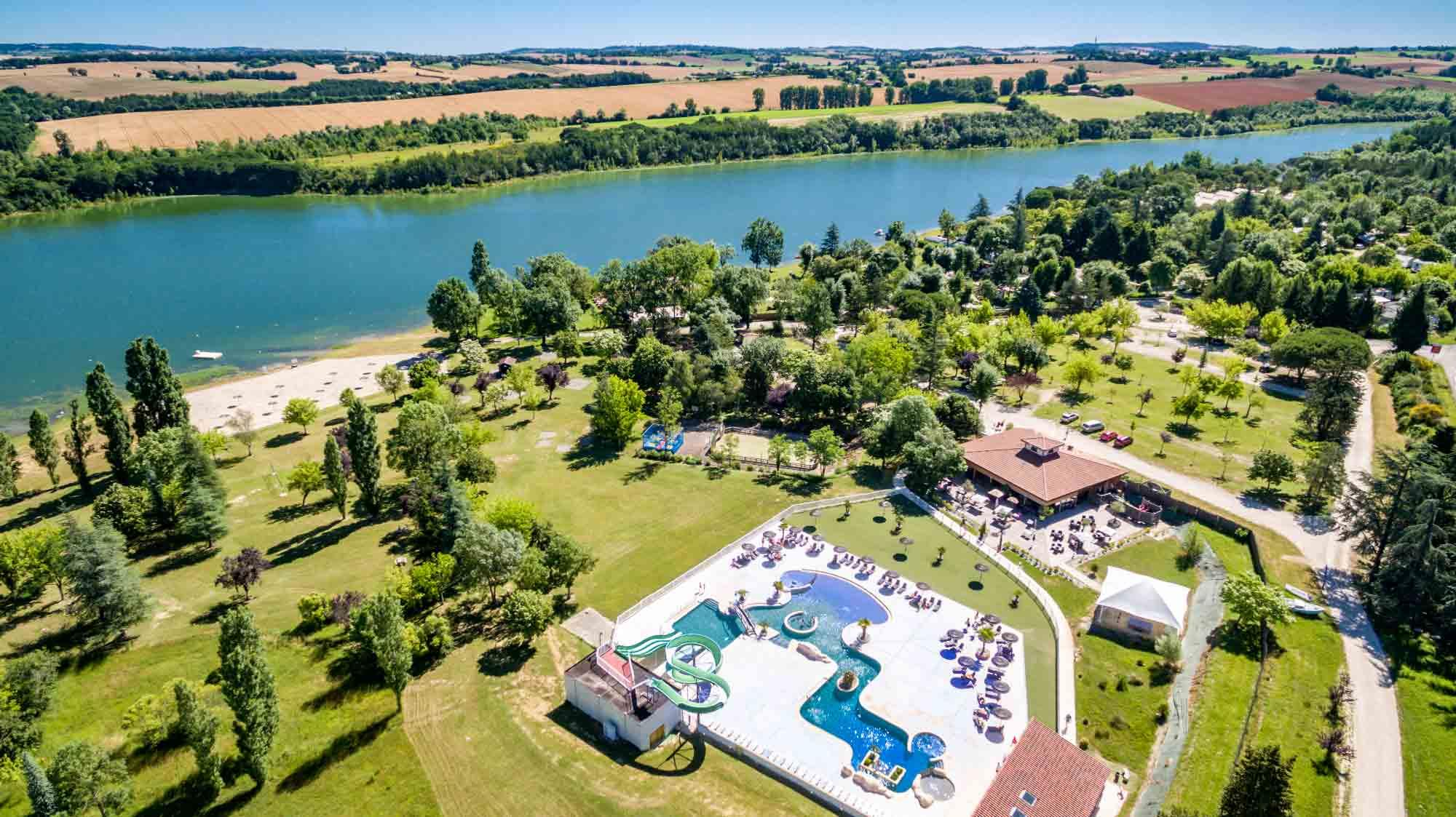 Camping Lac de Thoux St-Cricq, Thoux, Gers