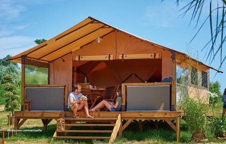 Location - Safari Tente - Camping L'Airial