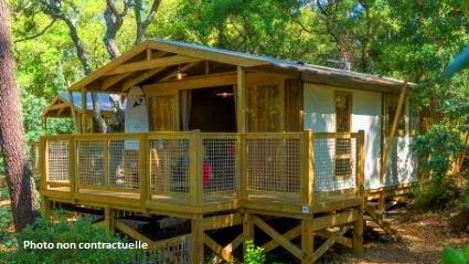 Location - Safari Lodge - Camping L'Airial