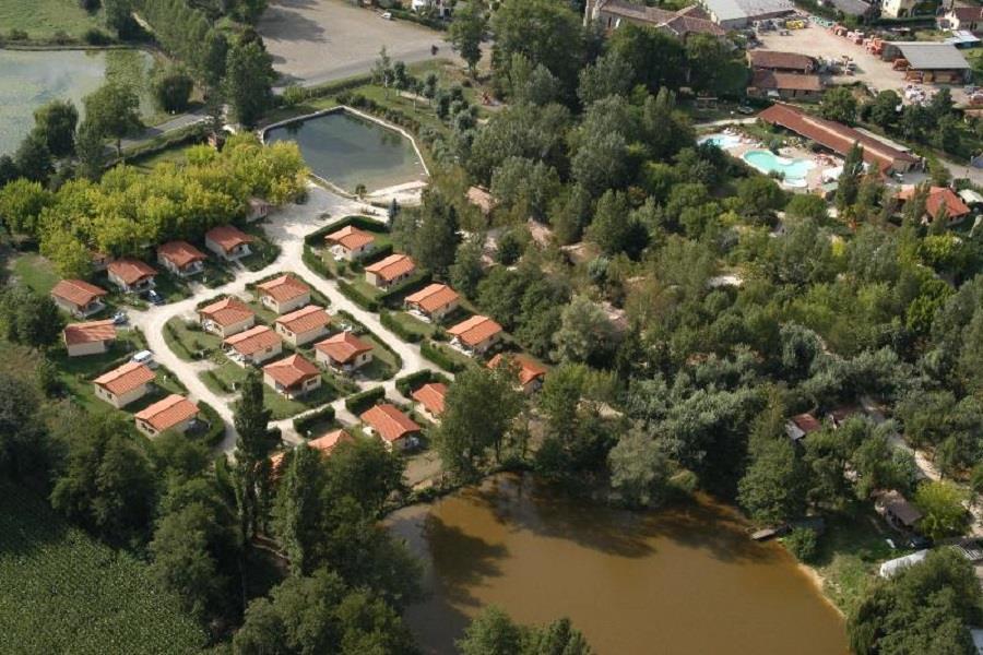 Camping les Lacs de Courtes, Estang, Gers