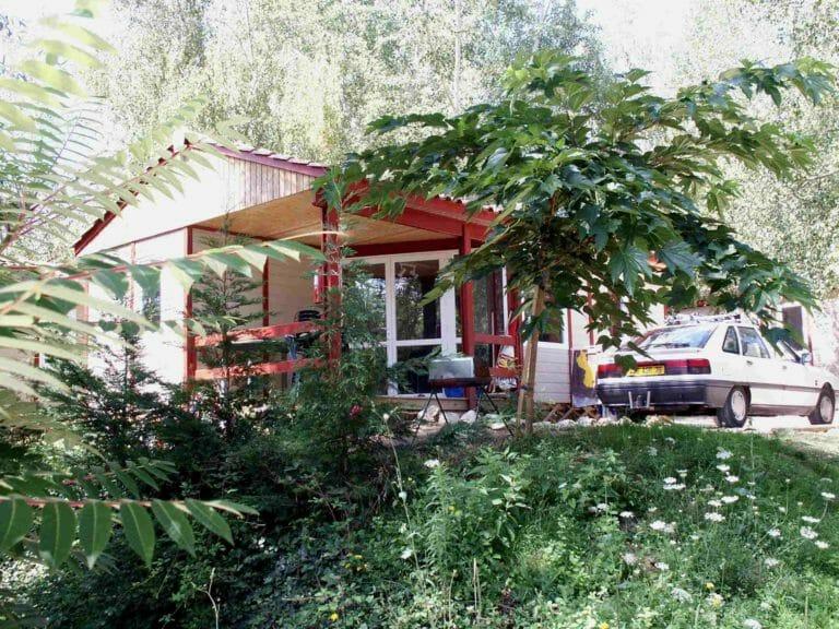 Location - Chalet Rêve 35 M² (2 Chambres) - Camping Les Lacs de Courtès